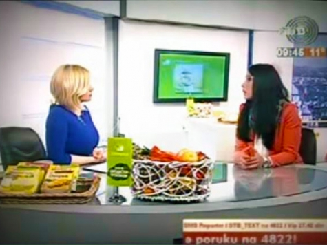 "Snežana Radinović, Director of RADEI Belgrade, in TV show ""Good Morning Belgrade"""