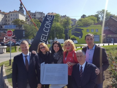 Presentation of New Tourist Signalization in the City of Belgrade