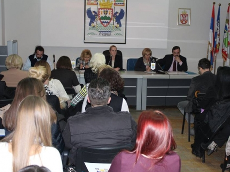 Conference on the topic of women's entrepreneurshipu organized in Municipality of Cukarica